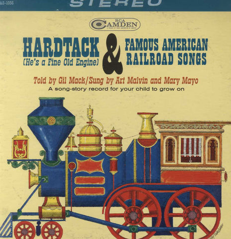 Gilbert Mack - Hardtack & Famous American Railroad Songs