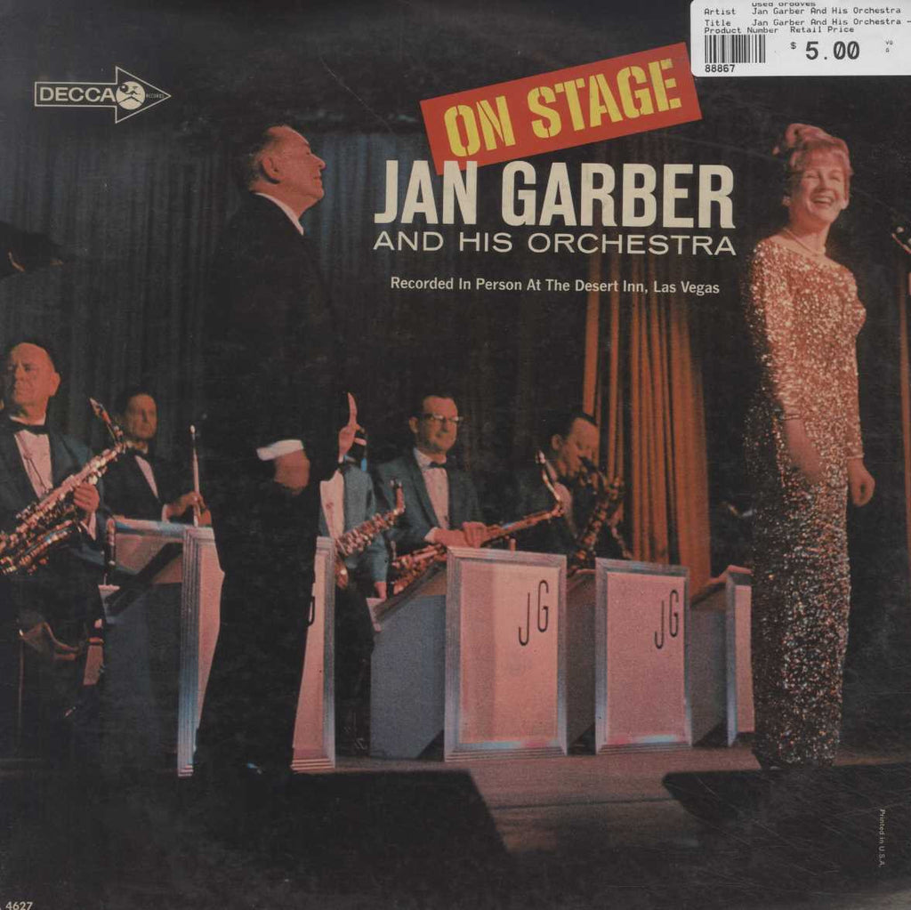Jan Garber And His Orchestra - On Stage