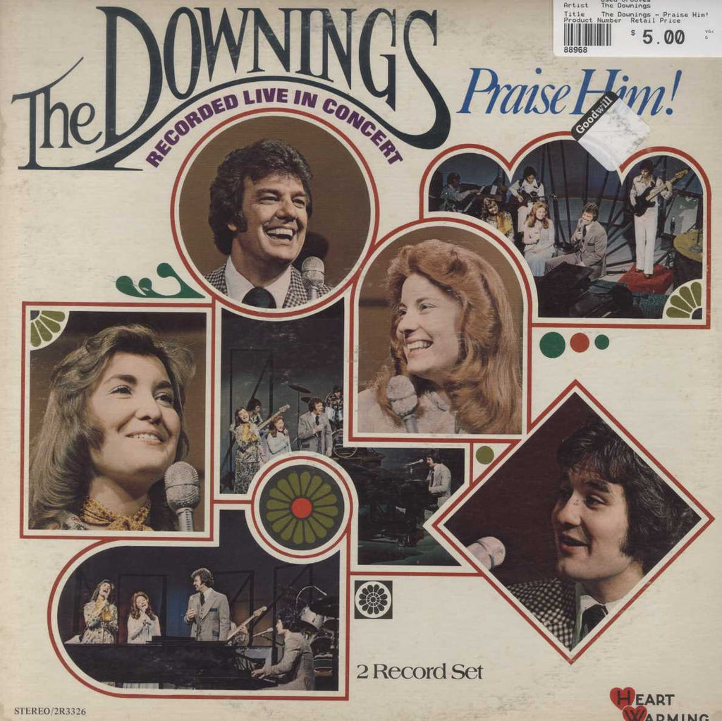 The Downings - Praise Him!