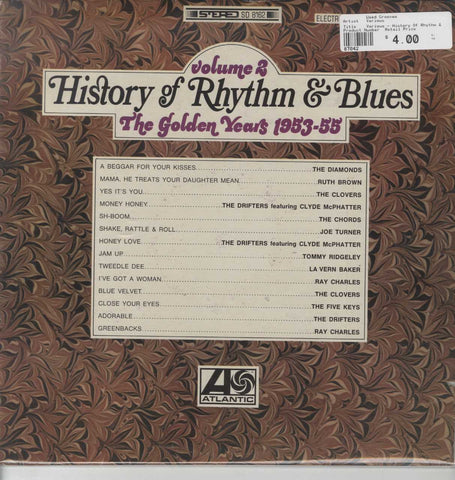 Various - History Of Rhythm & Blues - Volume 2: The Golden Years 1953-55