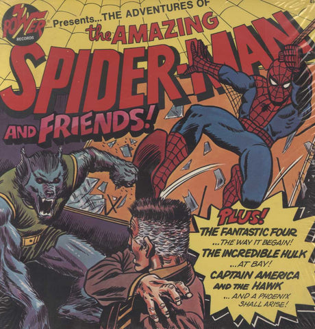 No Artist - The Adventures Of The Amazing Spider-Man And Friends!