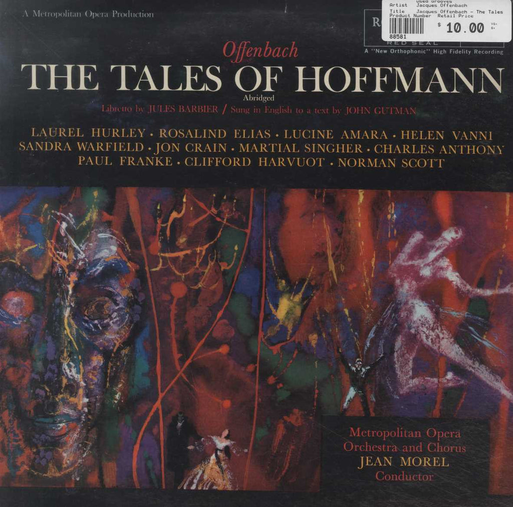 Jacques Offenbach - The Tales Of Hoffmann (Abridged)
