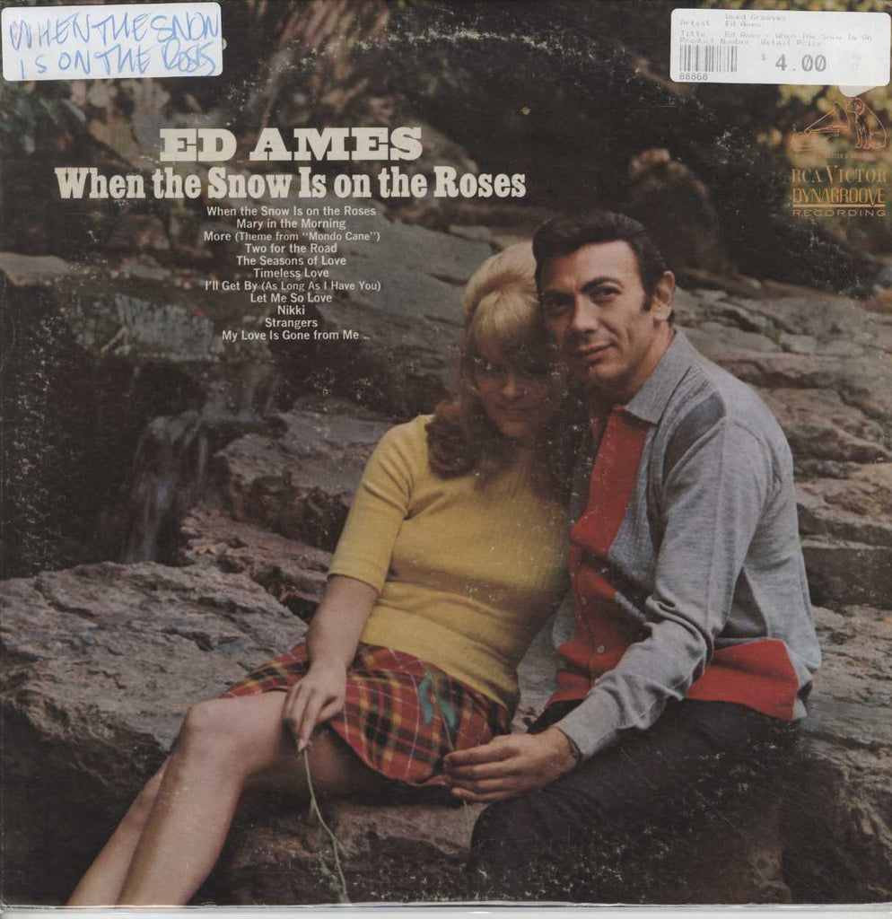 Ed Ames - When The Snow Is On The Roses