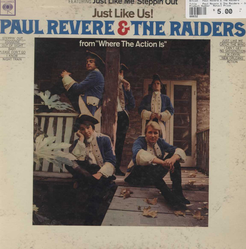 Paul Revere & The Raiders - Just Like Us!