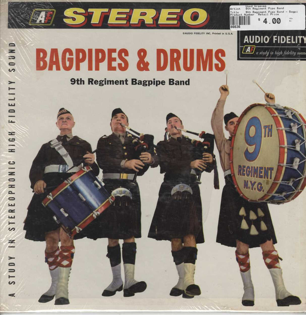 9th Regiment Pipe Band - Bagpipes & Drums