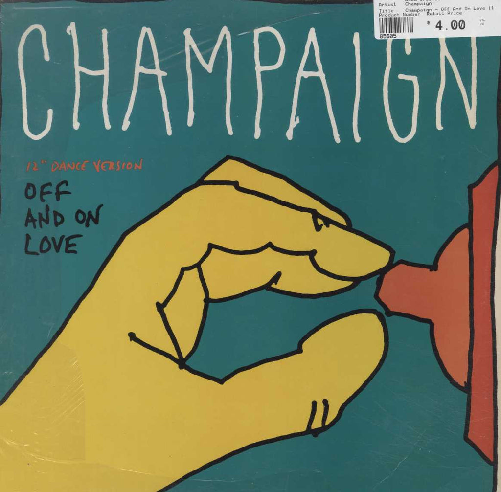 "Champaign - Off And On Love (12"" Dance Version)"