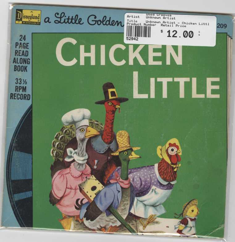 Unknown Artist - Chicken Little