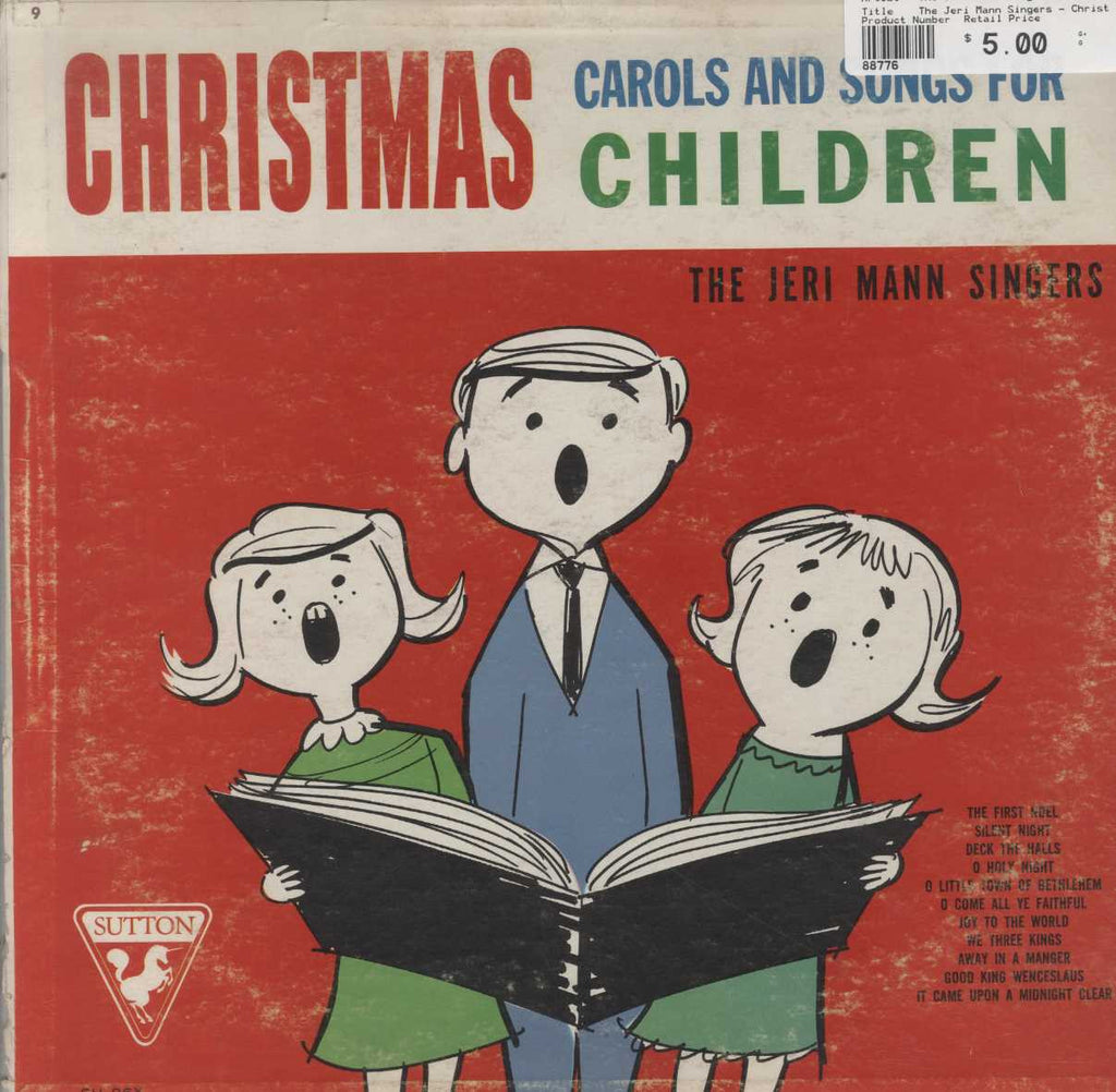 The Jeri Mann Singers - Christmas Carols And Songs For Children