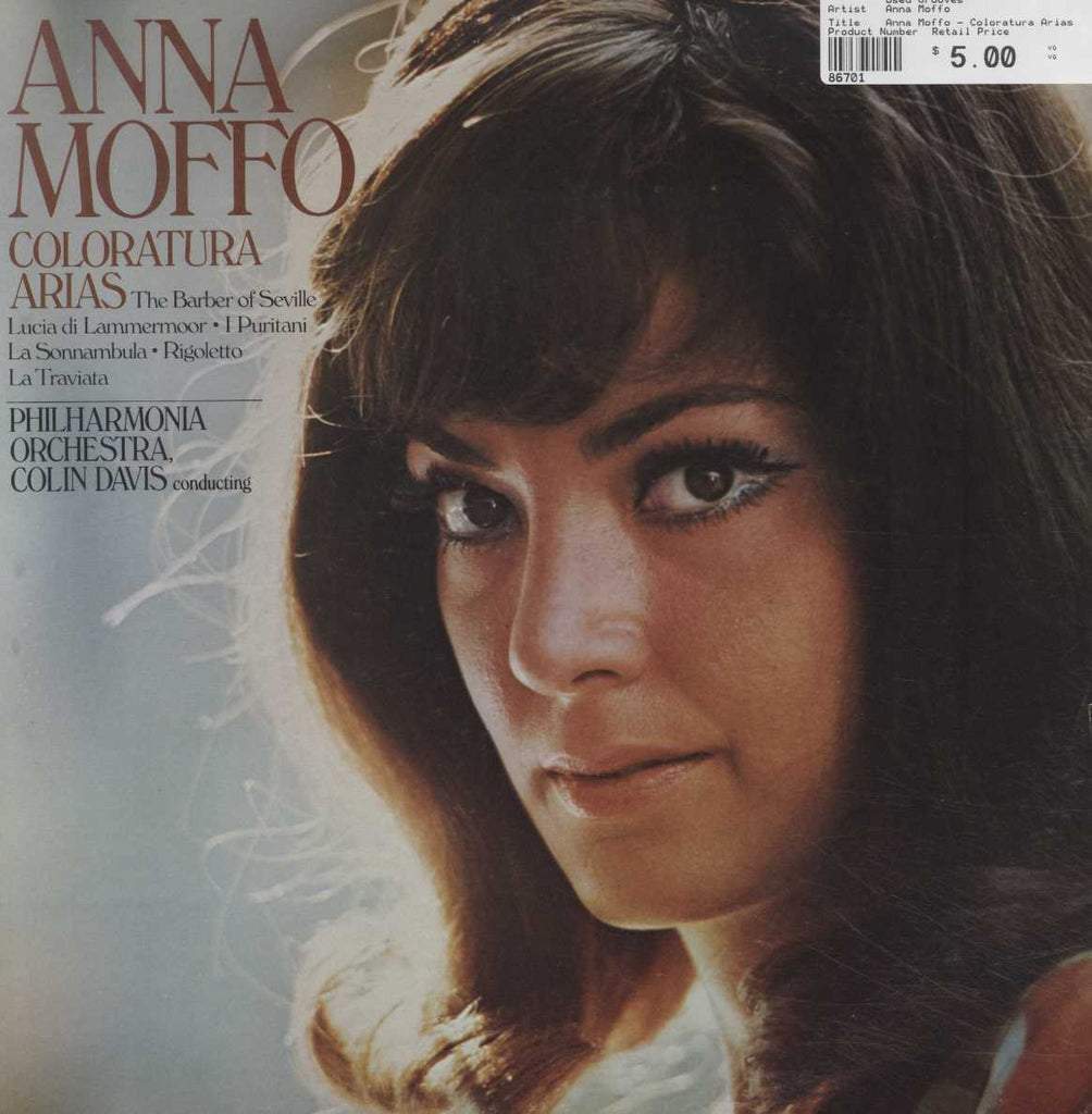 Anna Moffo - Coloratura Arias