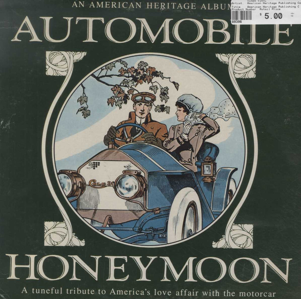 American Heritage Publishing Company, Inc. - Automobile Honeymoon
