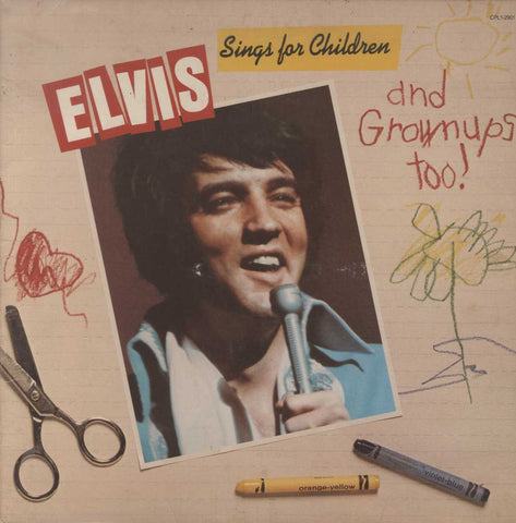 Elvis Presley - Elvis Sings For Children And Grownups Too!