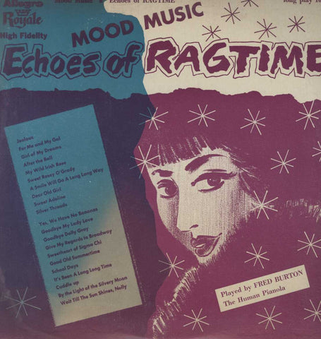 Fred Burton - Echoes of Ragtime
