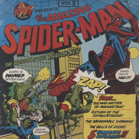 Unknown Artist - The Amazing Spider-Man: The Invasion Of The Dragon-Men Vol II