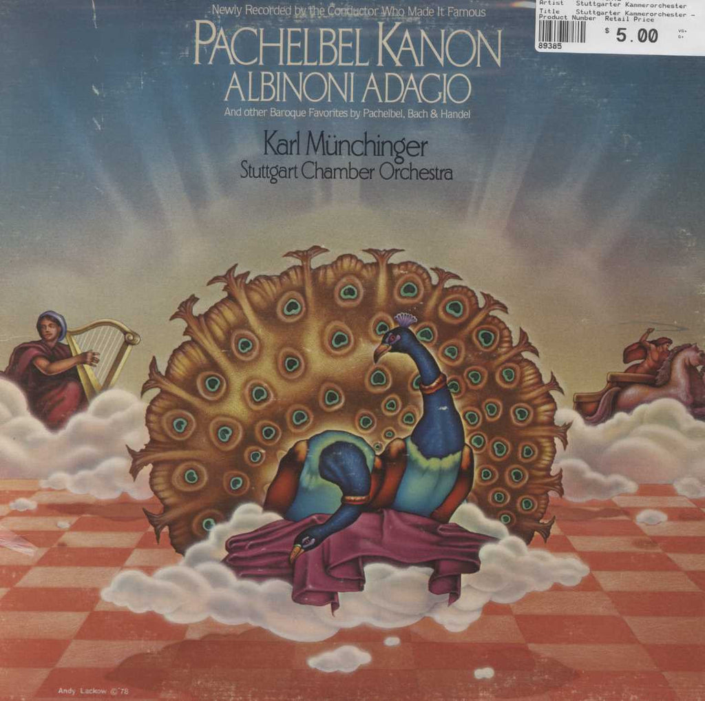 Stuttgarter Kammerorchester - Pachelbel Kanon, Albinoni Adagio, And Other Baroque Favorites By Pache
