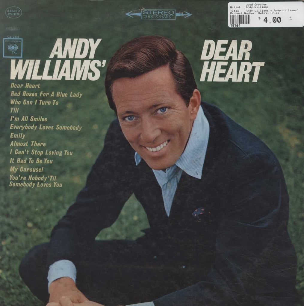Andy Williams - Andy Williams' Dear Heart
