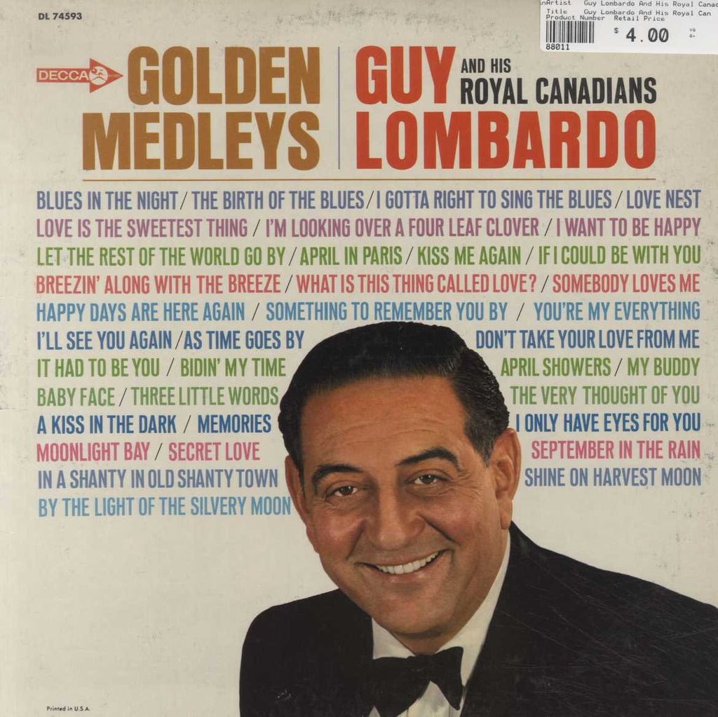 Guy Lombardo And His Royal Canadians - Golden Medleys