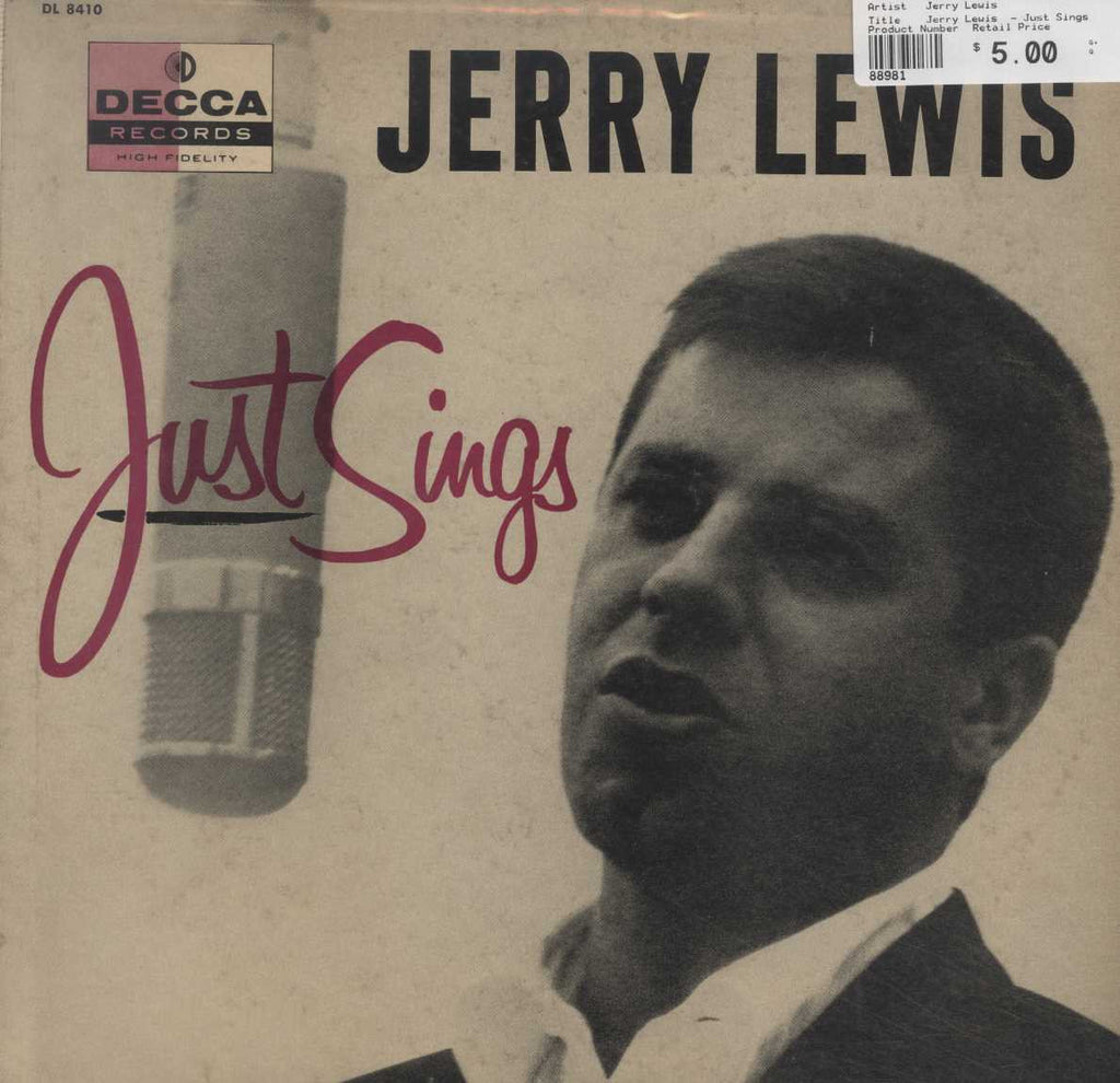 Jerry Lewis  - Just Sings