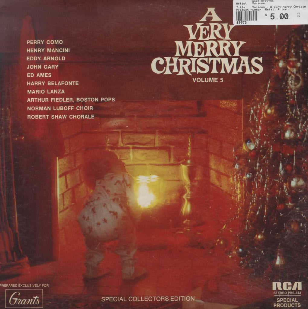Various - A Very Merry Christmas Volume 5
