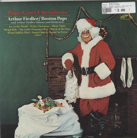 Arthur Fiedler - Pop Goes Christmas