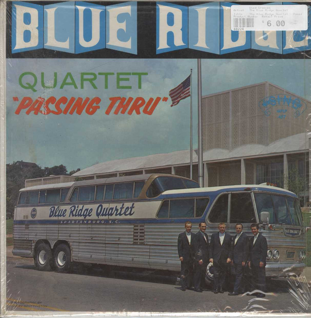 The Blue Ridge Quartet - Passing Thru