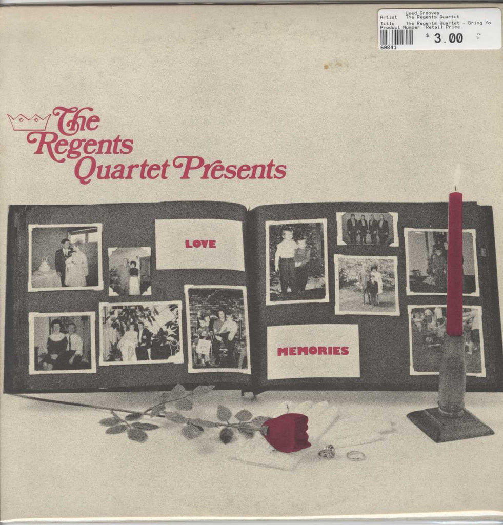 The Regents Quartet - Bring You Memories