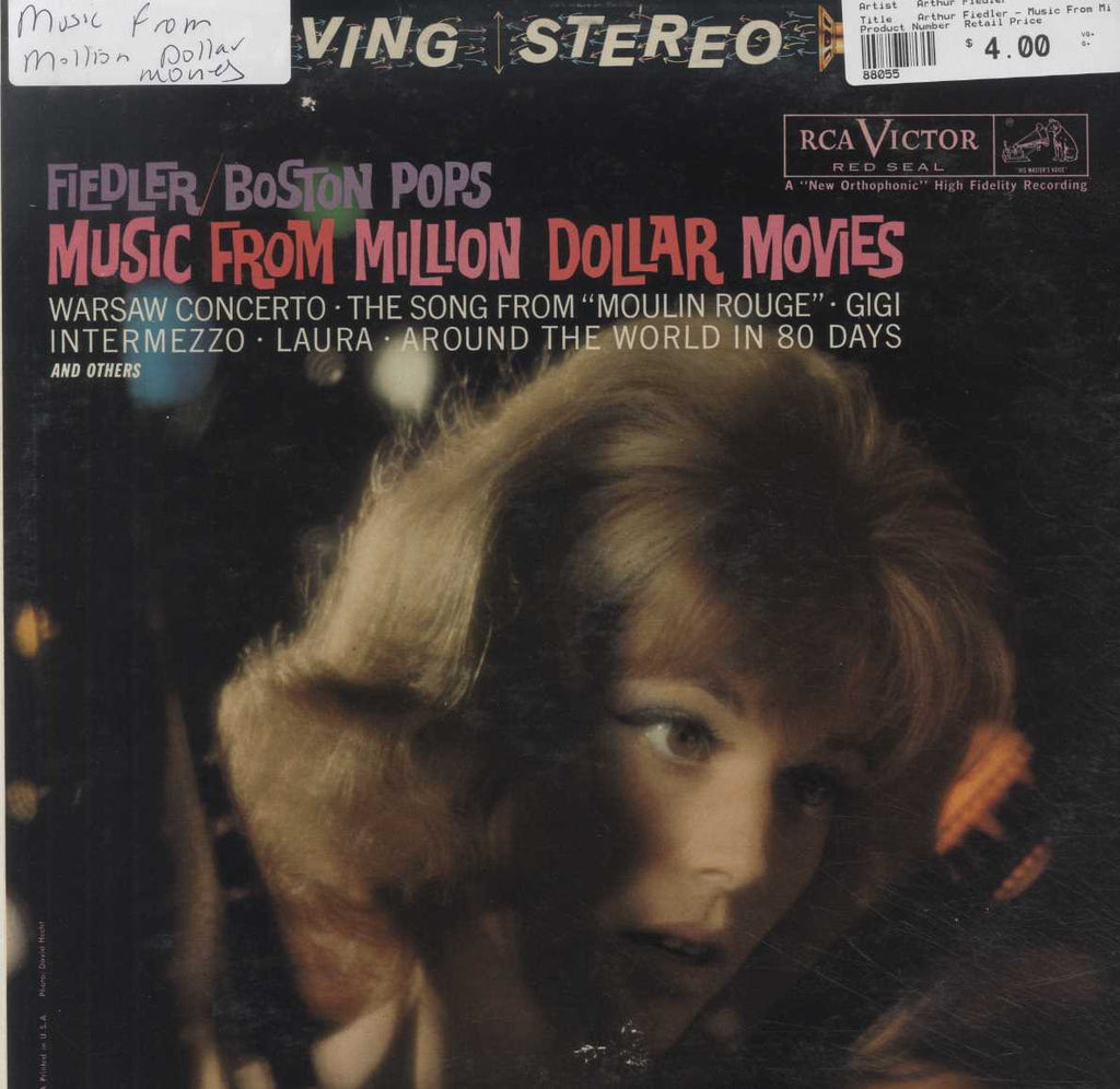 Arthur Fiedler - Music From Million Dollar Movies
