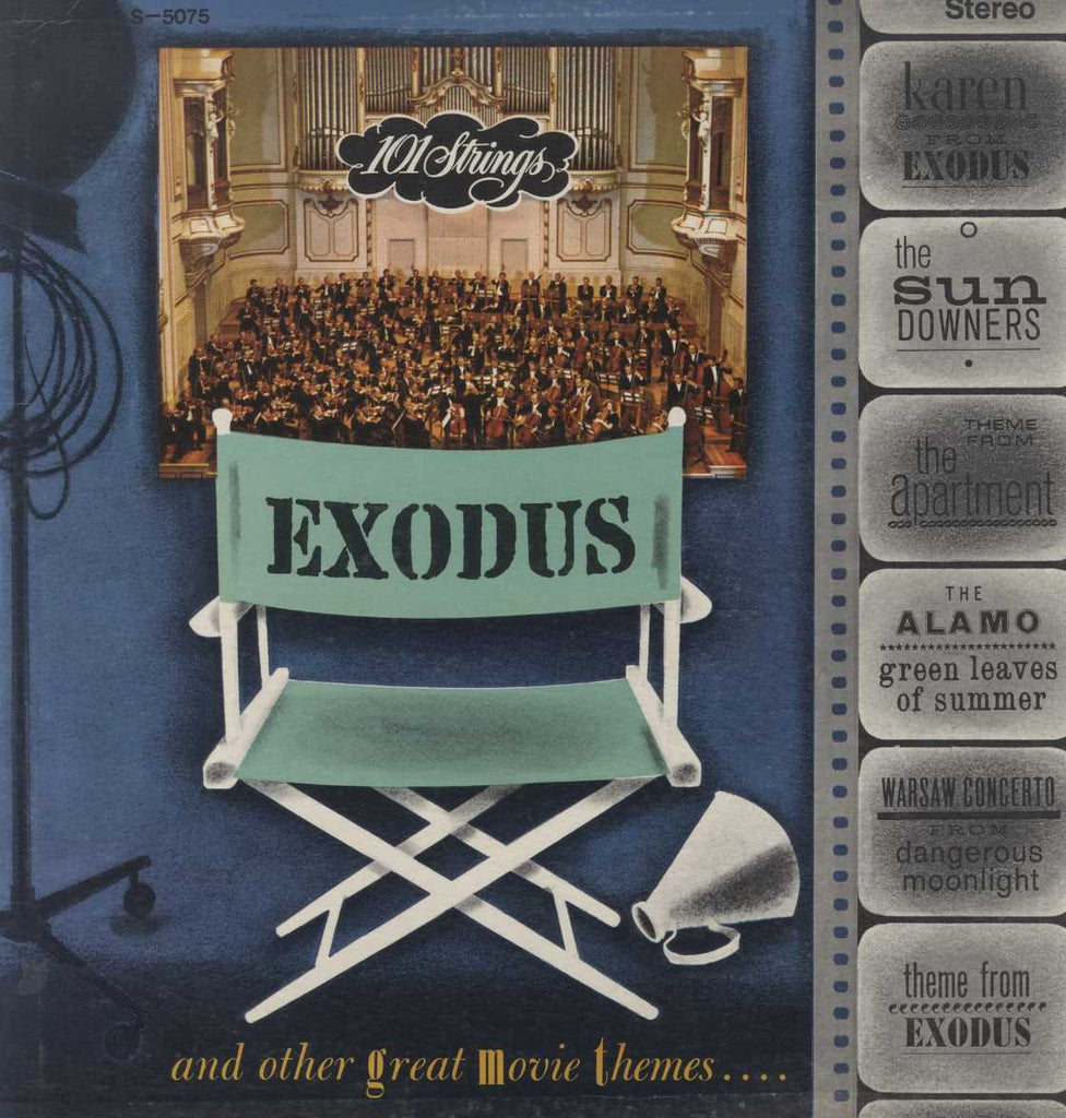 101 Strings - Exodus And Other Great Movie Themes
