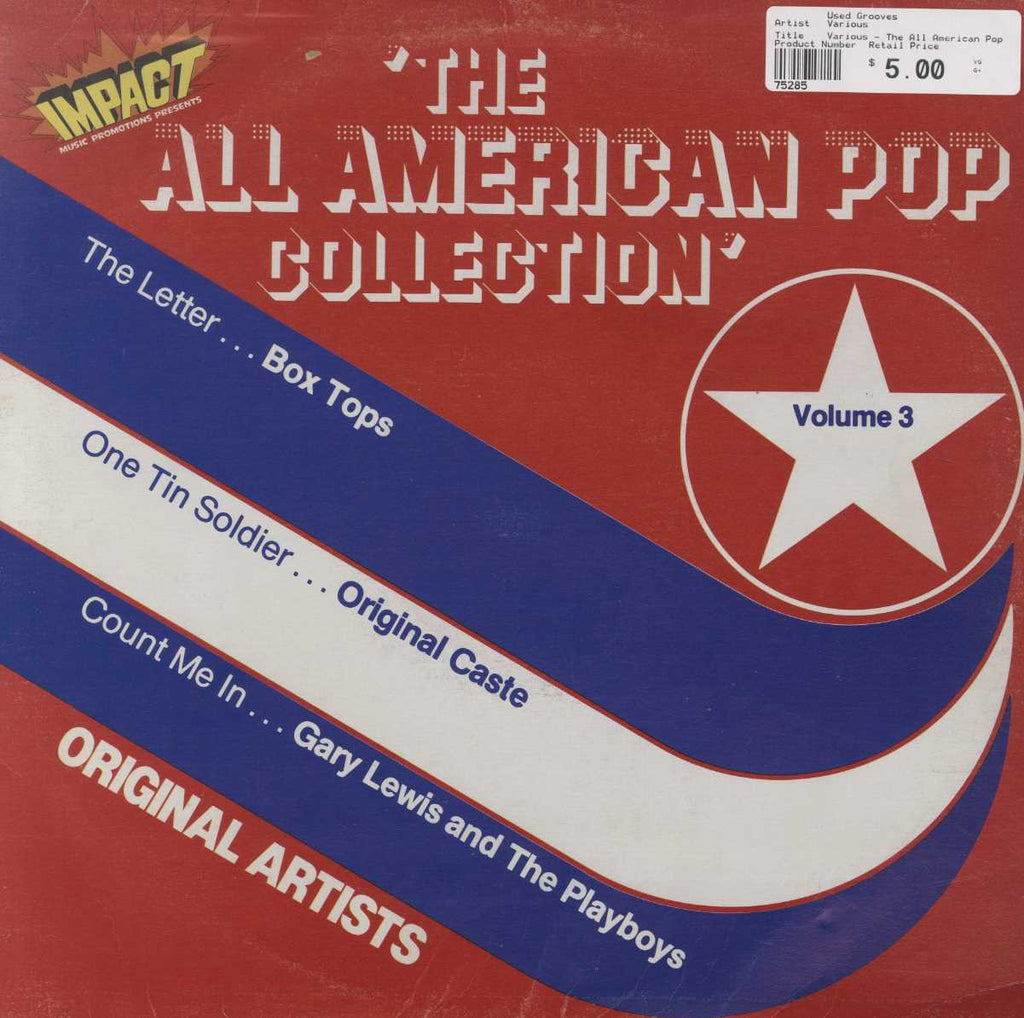 Various - The All American Pop Collection Volume 3