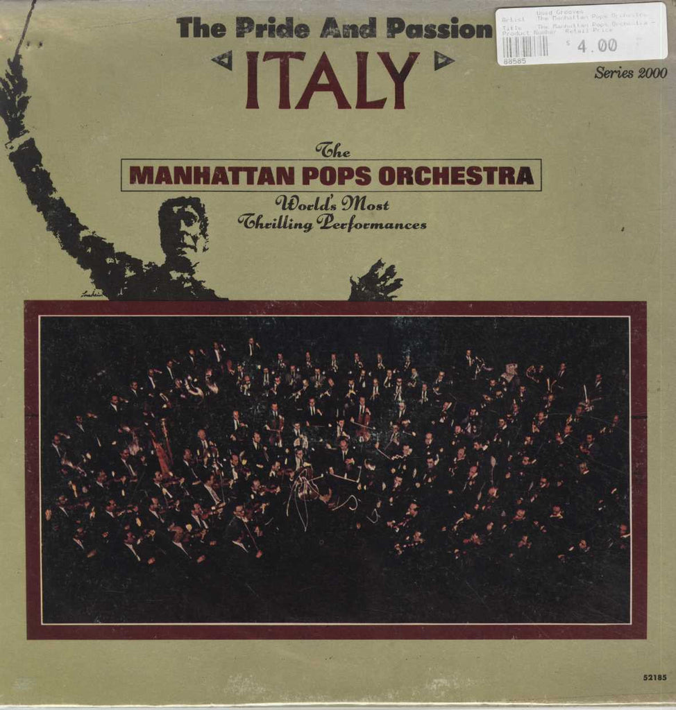The Manhattan Pops Orchestra - Italy, The Pride & Passion