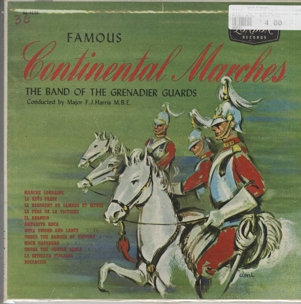 The Band Of The Grenadier Guards - Famous Continental Marches
