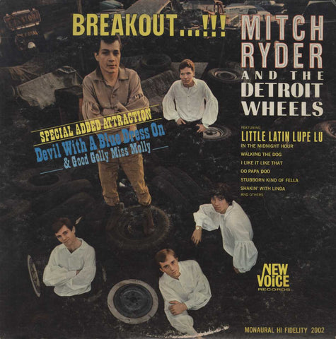 Mitch Ryder & The Detroit Wheels - Breakout...!!!