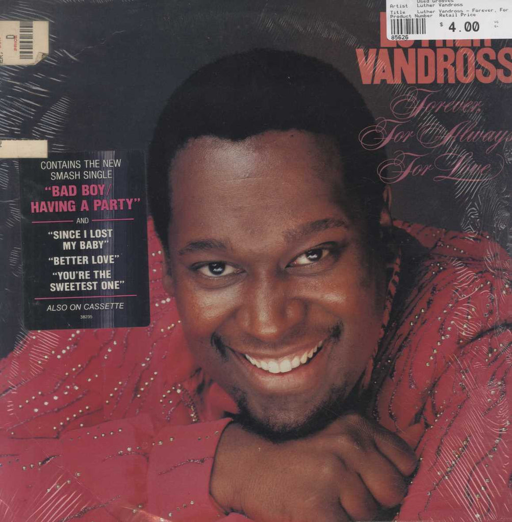 Luther Vandross - Forever, For Always, For Love
