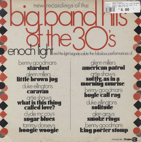 Enoch Light And The Light Brigade - Big Band Hits Of The 30's Vol. 2