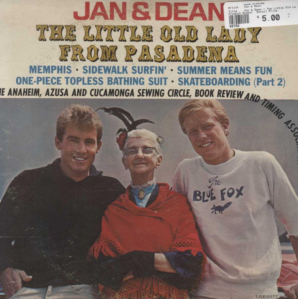 Jan & Dean - The Little Old Lady From Pasadena