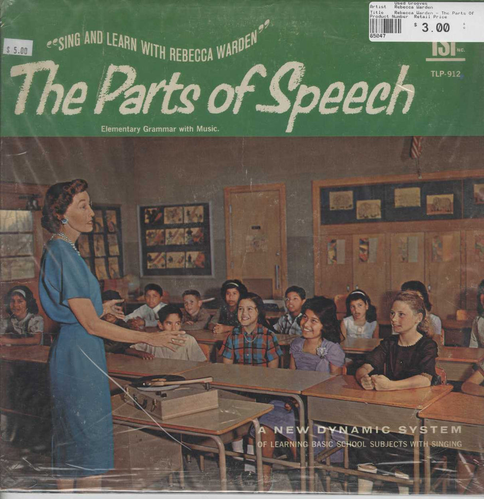 Rebecca Warden - The Parts Of Speech