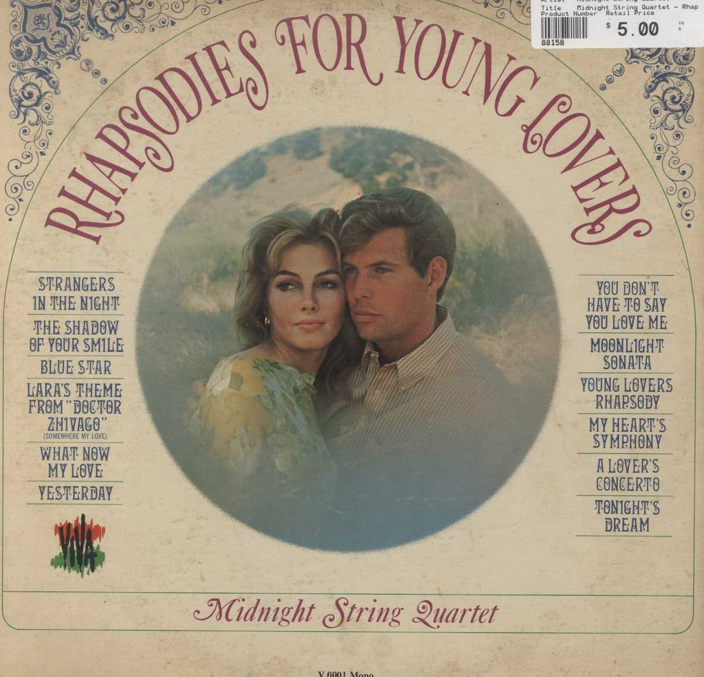 Midnight String Quartet - Rhapsodies For Young Lovers