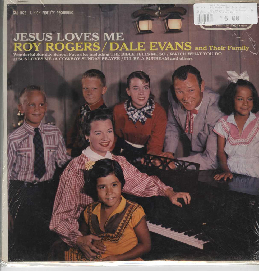 Roy Rogers And Dale Evans - Jesus Loves Me