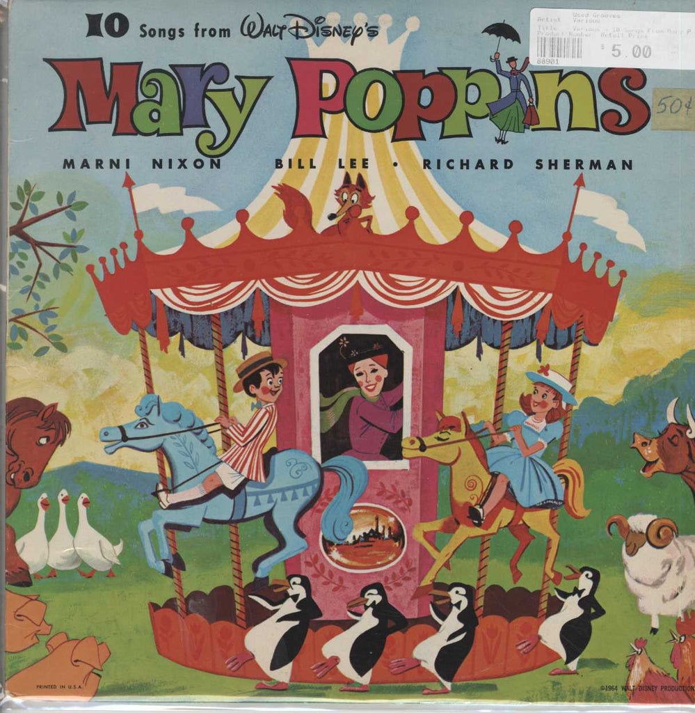Various - 10 Songs From Mary Poppins