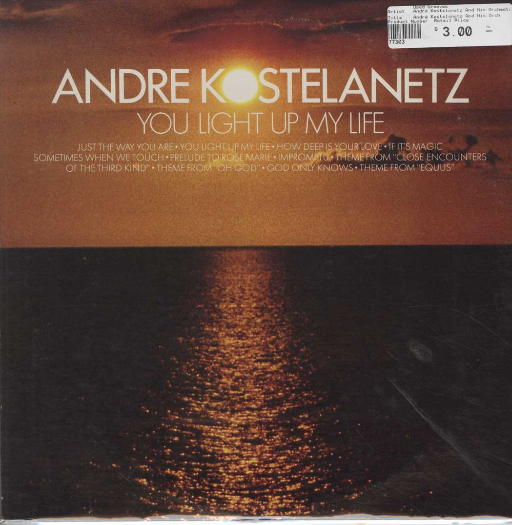 André Kostelanetz And His Orchestra - You Light Up My Life