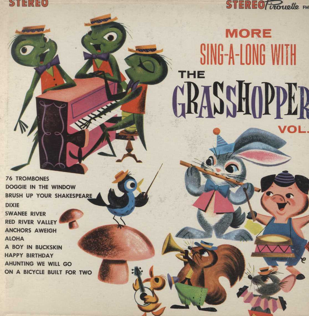 The Grasshoppers - Sing-Along With The Grasshoppers