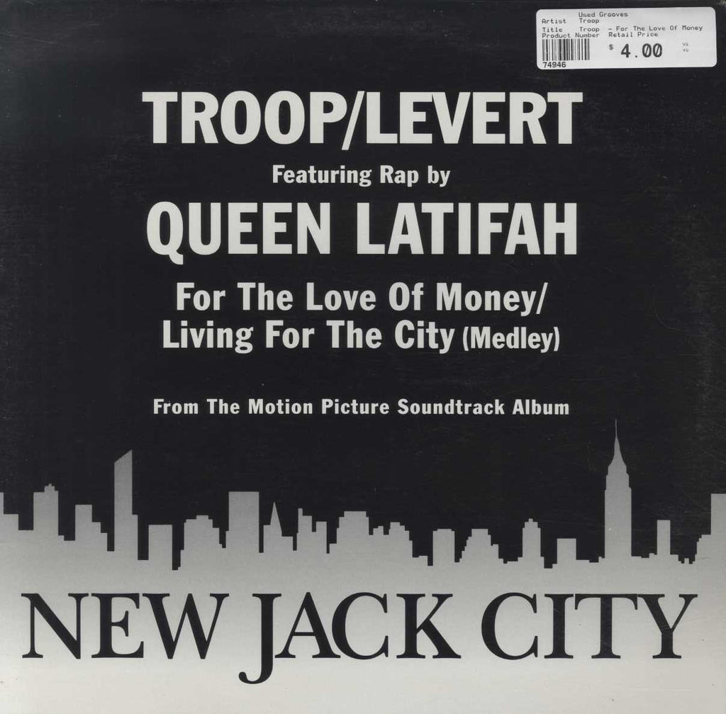 Troop  - For The Love Of Money / Living For The City (Medley)