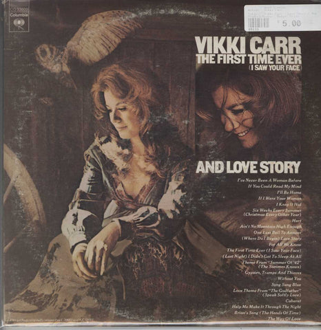 Vikki Carr - Love Story / The First Time Ever (I Saw Your Face)