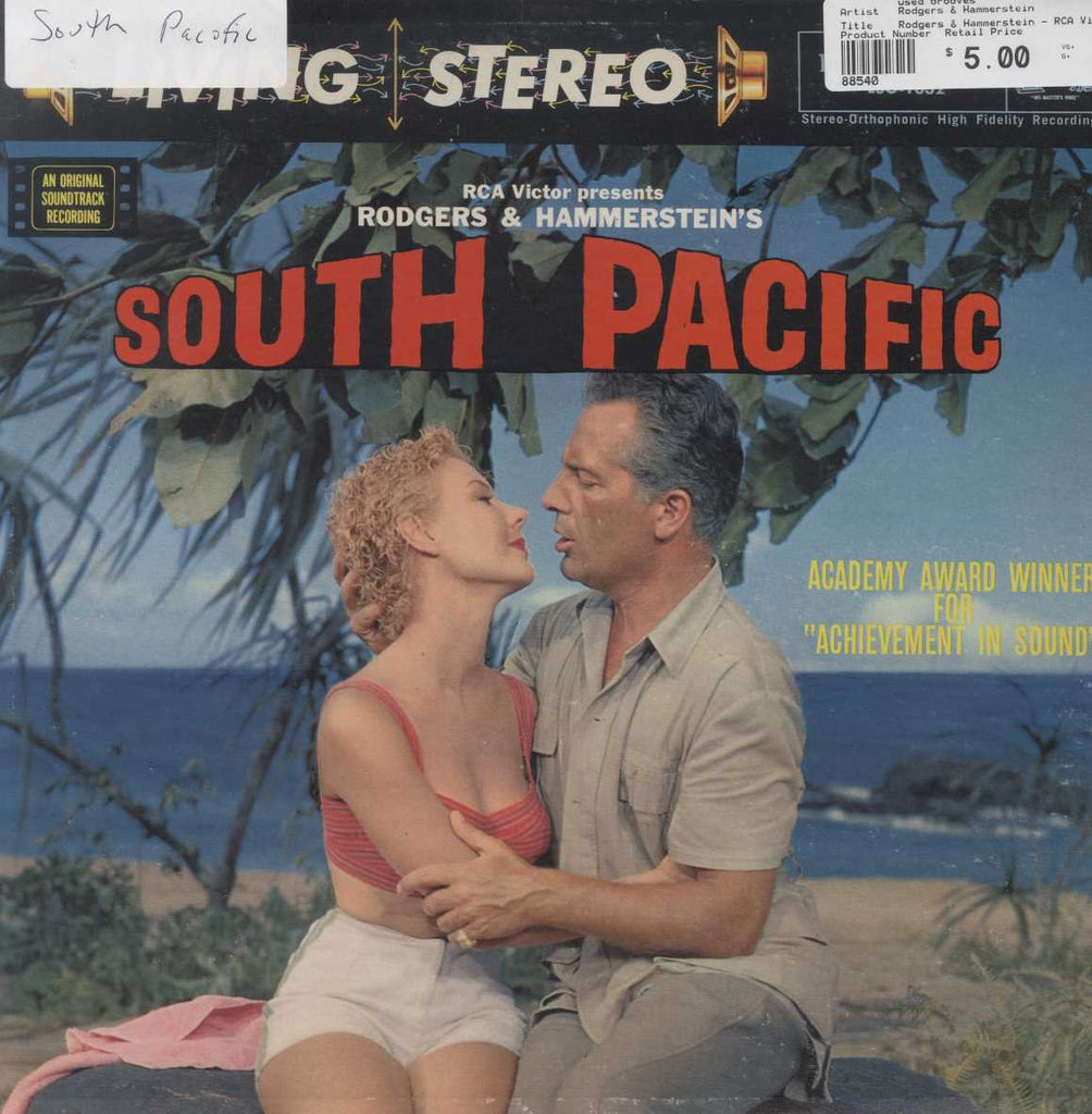 Rodgers & Hammerstein - RCA Victor Presents Rodgers & Hammerstein's South Pacific (An Original Sound