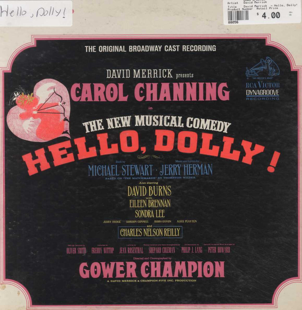 David Merrick  - Hello, Dolly! - The Original Broadway Cast Recording