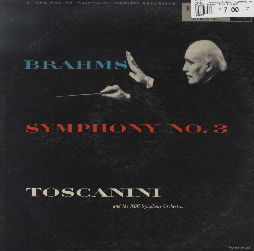 Johannes Brahms - Symphony No. 3 In F Major