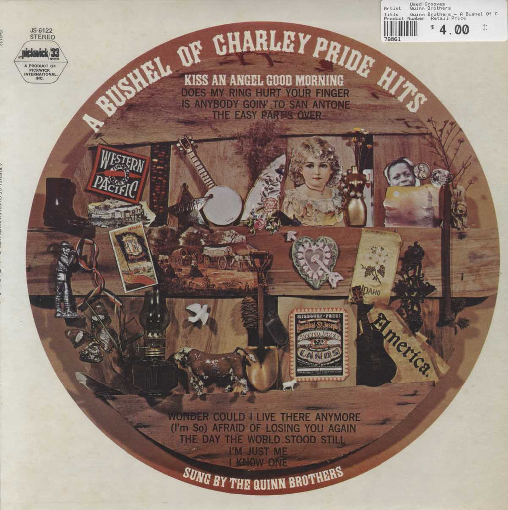 Charlie Pride Hits Complete quinn brothers - a bushel of charley pride hits