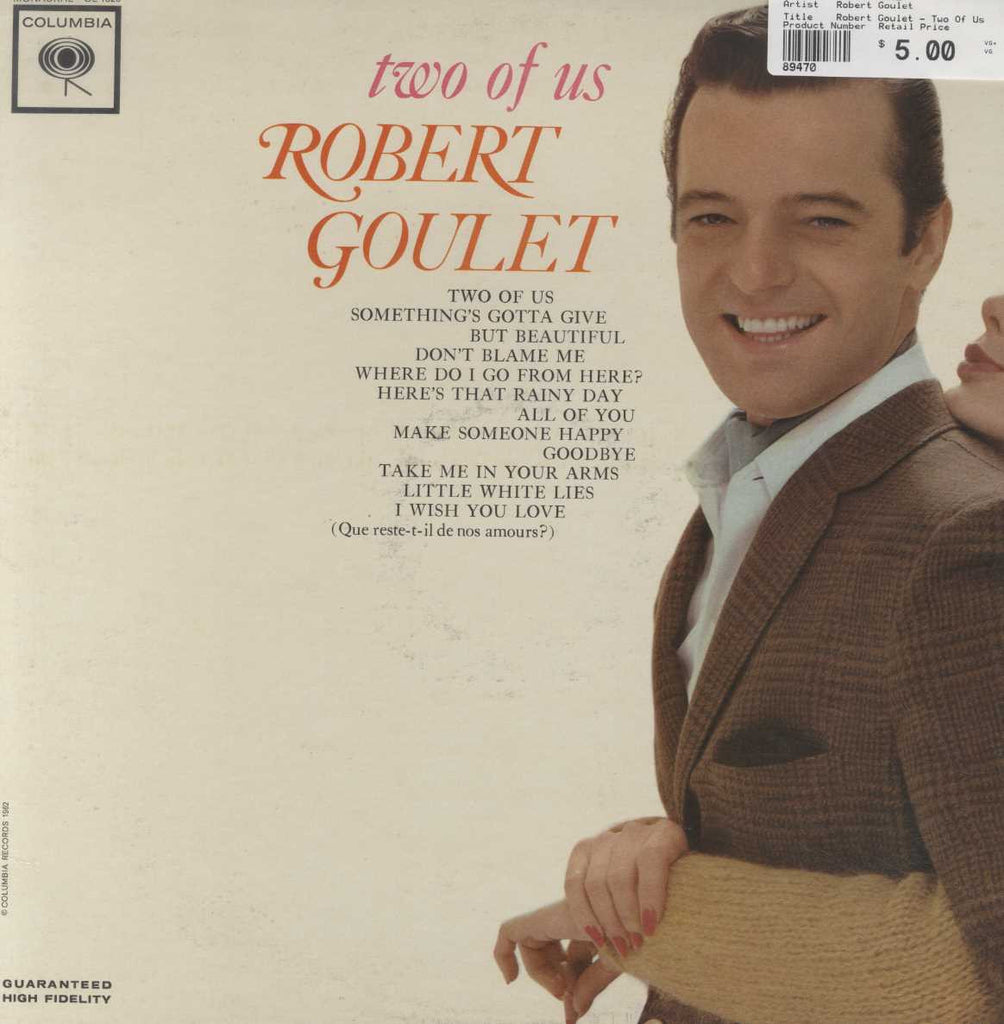 Robert Goulet - Two Of Us