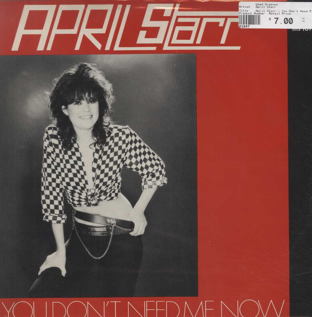 April Starr - You Don't Need Me Now