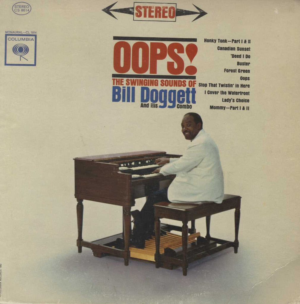 Bill Doggett Combo - Oops! - The Swinging Sounds Of Bill Doggett And His Combo