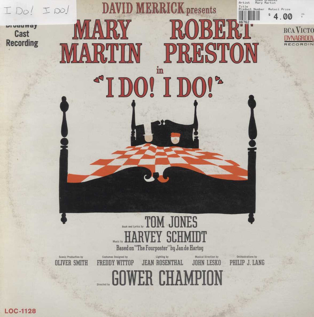 "Mary Martin - ""I Do! I Do!"" (Original Broadway Cast Recording)"